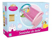 Bercinho De Boneca Soninho Bebe Alive Princesa Menina - Nig -
