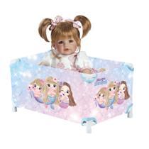 Berço Chiqueirinho de Boneca e Baby Alive Princesas Sereias - Fabrincando Ideias Inovadoras -