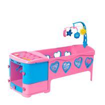 e6e8d5d472b8 Berço De Boneca Doce Sonho Rosa - Magic Toys