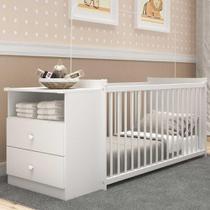 Berço Grade Fixa 3 Níveis de Altura Multimóveis - Meu Bebê 2870.010 -