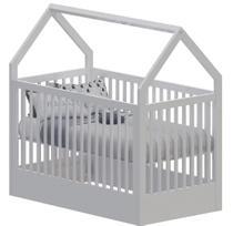 Berço Infantil Montessoriano Pratic - Branco Acetinado - Divicar Móveis -