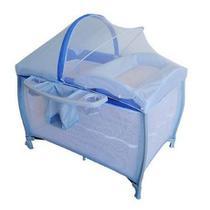 Berço new aconchego blue (azul) - burigotto -