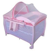Berço new aconchego pink (rosa) - burigotto -