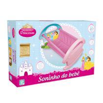 Berço Para Boneca Soninho do Bebê Princesas 791 - Nig -