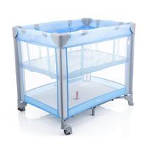 Berço Portátil Mini Play Desmontável 15kg IMP91284 Pop Blue  Safety -