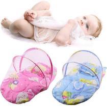 Berco portatil mosquiteiro infantil tenda cercadinho com travesseiro com bolsa para transporte - Faça  resolva