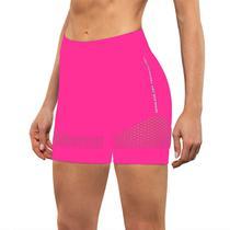 Bermuda arrastão short academia cintura alta fitness lupo -