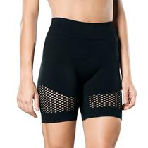 Bermuda fitness academia ginástica feminina roupa Lupo -