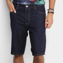 Bermuda Jeans Coca-Cola Comfort Escura Masculina -