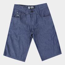 Bermuda Jeans Juvenil Fatal Básica Masculina -