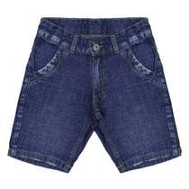 Bermuda Look Jeans Básica Jeans -