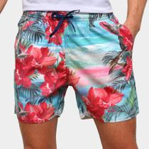 Bermuda Mood Flowers Masculina -