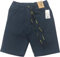 Bermuda Sarja Menino Infantil Azul-Marinho - Oliver Jeans
