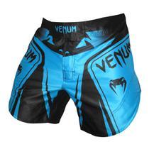 Bermuda Venum Shadow Pro Navy - Preto e Azul Claro -