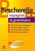 Bescherelle espagnol - la grammaire - Hatier