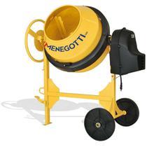 Betoneira 120 litros com motor 1/2 hp monofásico e kit segurança - Prime (220V) - Menegotti