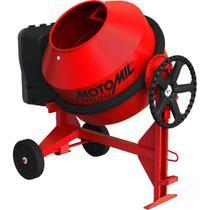 Betoneira 400L com Proteção de Cremalheira 220V Mb-400P Motomil -