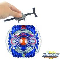 Beyblade Burst Hyper Horusood H2 Hoji Konda B44 - Azul + Lançador Pequeno - TornadoGyro Combat