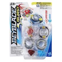 Beyblade Burst Pack 2 Spryzen e Odax B9493/B9491 - Hasbro -