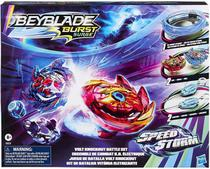 Beyblade Burst Surge Speed Storm - Kit Arena de Batalha Vitória Eletrizante Hasbro -