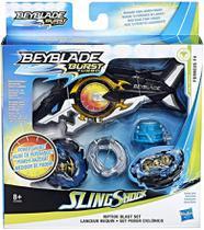 Beyblade Lançador Kit Riptide Blast Beyblade Burst Turbo + Forneus F4 Hasbro -