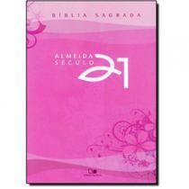 Bíblia A21 brochura - lilás c/ referências cruzadas - Vida Nova