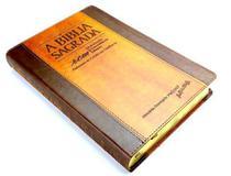 Bíblia ACF - RCM (Referências, Concordância e Mapas) - Chocolate / Havana - Letra Gigante - Índice - Sbtb