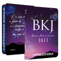 Bíblia BKJ 1611 Slim Ultra fina Lettering Bible King James - Editora Bv Books