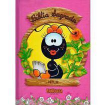 Bíblia Capa Dura Smilinguido Faniquita Rosa - Luz e vida