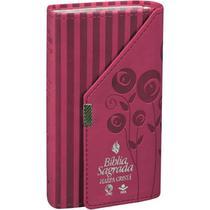 Biblia carteira com harpa pink - Cpad-Casa Public.Das Assemblei