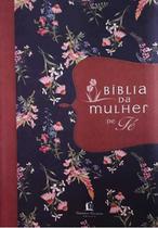 Bíblia Da Mulher De Fé - Tecido Florido - Editora Thomas Nelson -