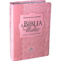 Biblia Da Mulher Media Rosa Claro Ra - Sociedade