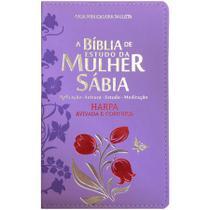 Biblia Da Mulher Sabia Mod 01 Tulipa Lilas - Cpp