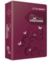 Bíblia Da Mulher Vitoriosa Letra Gigante  Uva - Central Gospel