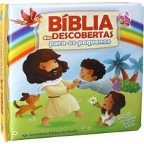 Bíblia das Descobertas Para os Pequenos - Capa Dura Almofadada - Sbb