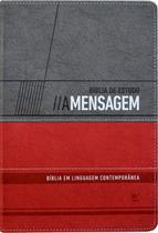 Bíblia de Estudo A Mensagem - Vida