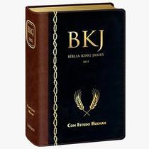 BÍBLIA DE ESTUDO BKJ 1611 Corrigida FIEL Estudo Holman - Editora Bv