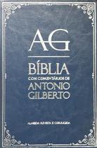 Bíblia de Estudo com Comentários de Antônio Gilberto Azul - CPAD
