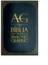 Bíblia de Estudo com Comentários de Antônio Gilberto Preta -