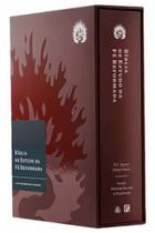 Bíblia de estudo da fé reformada - Capa Dura Bordo c/ caixa - FIEL -