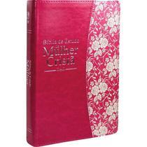 Bíblia de Estudo da Mulher Cristã - Grande (Magenta luxo) - Cpad