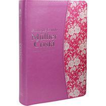 Bíblia de Estudo da Mulher Cristã - Grande (Rosa luxo) - Cpad