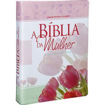 Bíblia de estudo da mulher grande revista corrigida  sbb rc - Sociedade Bíblica Do Brasil