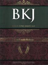 Biblia de estudo holman duotone - marrom com preta - Bv Films Biblia