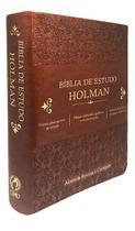 Biblia de Estudo Holman Marrom - Cpad