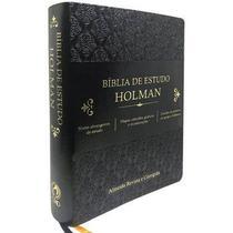Bíblia de Estudo Holman Preta - Cpad
