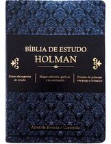 Bíblia De Estudo Holman Preto - Editora Cpad -