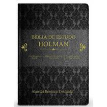 Bíblia de Estudo Holman   RC - Editora Cpad -