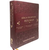 Bíblia de Estudo Holman  RC - Editora Cpad