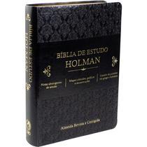 Bíblia de Estudo Holman - Sociedade Bíblica Do Brasil